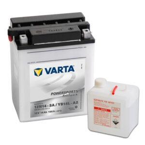batteria varta YB14L-A2-(12N14-3A)