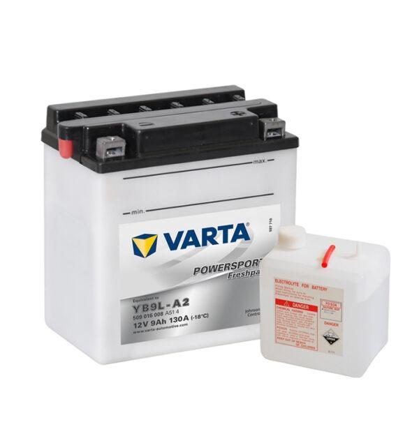 batteria varta YB9L-A2