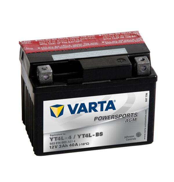 batteria varta YT4L-BS-(YT4L-4)