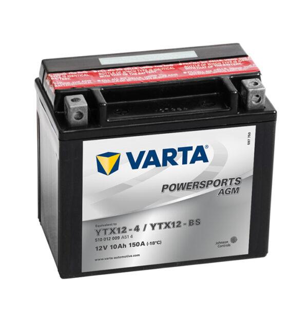 batteria varta YTX12-BS-(YTX12-4)