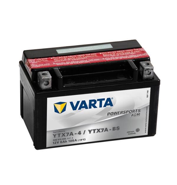 batteria varta YTX7A-BS-(-YTX7A-4)