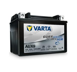batteria ausiliaria varta aux9