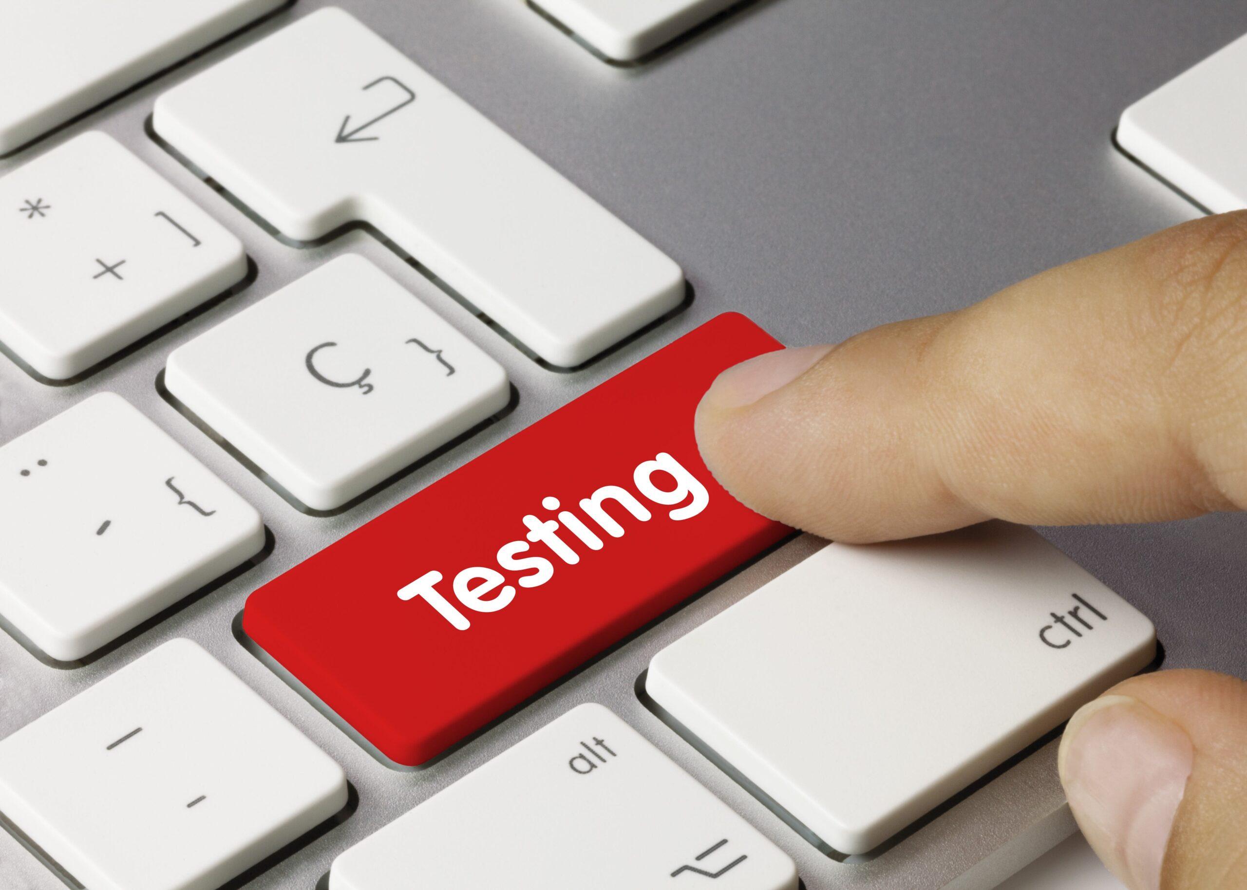 testing immagine