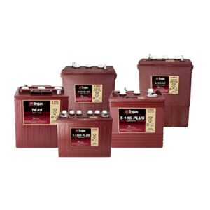 Batterie piastra piana Trojan