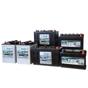 Batterie per pulizie industriali piastra Tubolare
